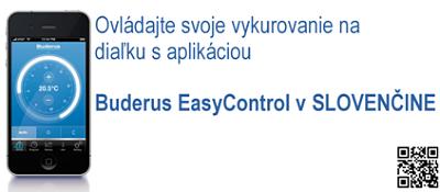 Jednoduché ovládanie kompletného kúrenia pomocou aplikácie Buderus EasyControl cez iPhone už teraz. Jednoducho, rýchlo, hladko.