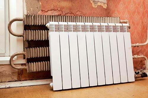 vymena radiatorov